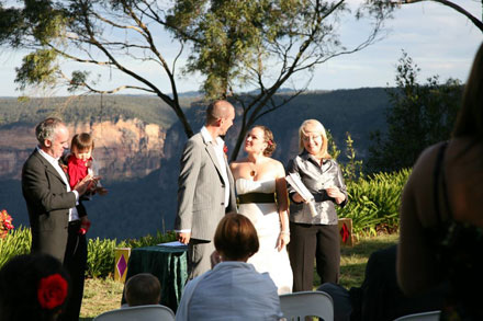 Blue Mountains Weddings at Allview Escape Blackheath